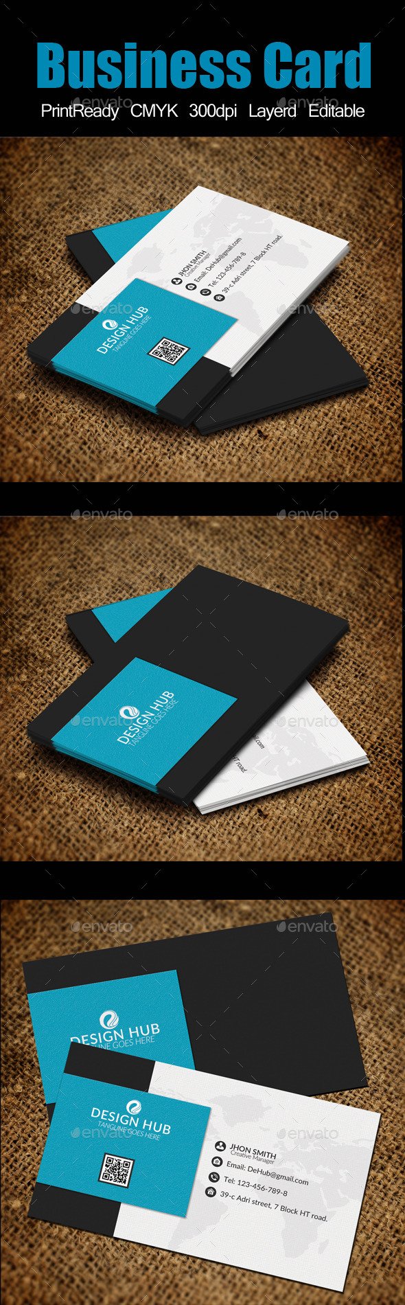GraphicRiver Business Card Template 10617374