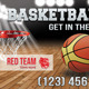 Basketball Night Outdoor Banner 42 - GraphicRiver Item for Sale