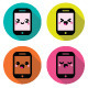 Japanese Kawaii Character Mobile Cellphone  - GraphicRiver Item for Sale