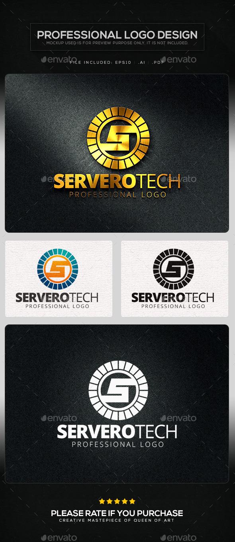 GraphicRiver Serverotech Logo Template 10618322