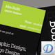 Ty business card - GraphicRiver Item for Sale