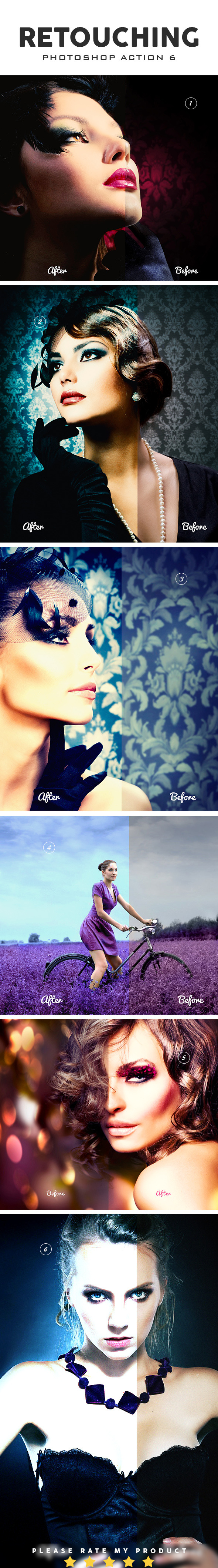GraphicRiver Retouching Photoshop Action 6 10618881
