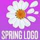Simple Spring Flower Logo - VideoHive Item for Sale