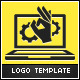 Laptop Check Logo Template - GraphicRiver Item for Sale