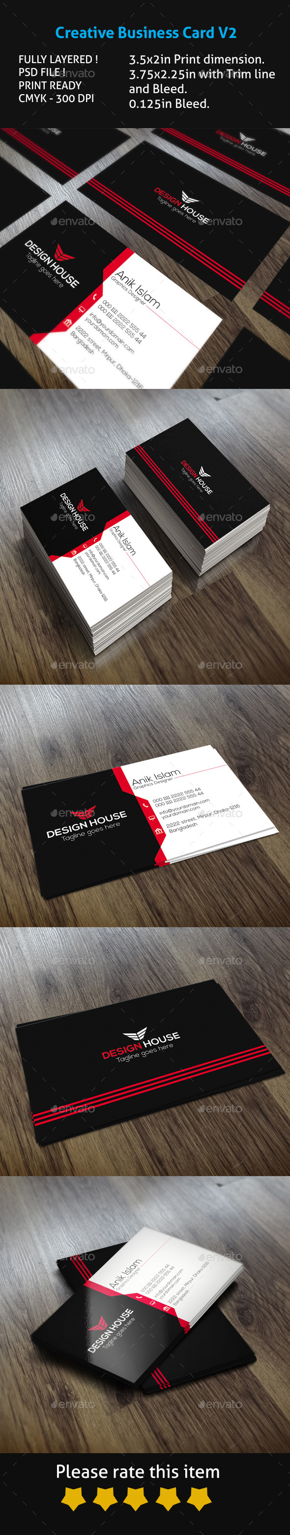 GraphicRiver Creative Business Card V2 10618998