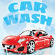 Car Wash Roll-Up Banner - GraphicRiver Item for Sale