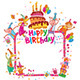 Happy Birthday Cards - GraphicRiver Item for Sale