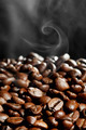 Hot roasted coffee beans - PhotoDune Item for Sale