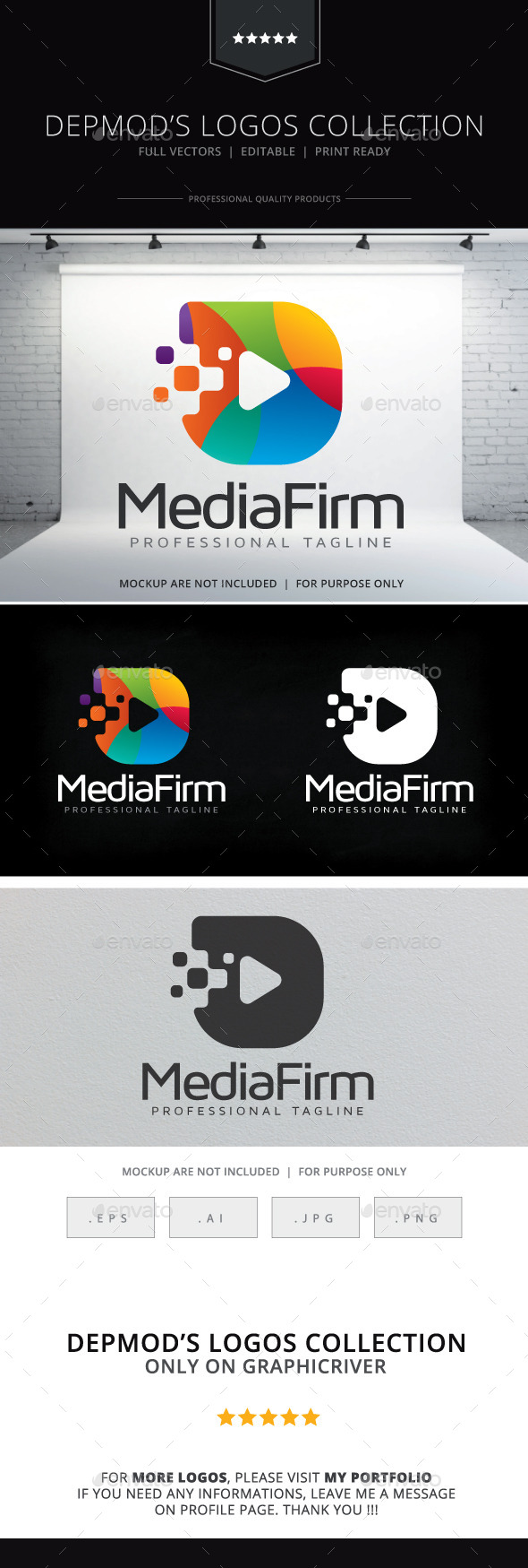 GraphicRiver Media Firm Logo 10620302