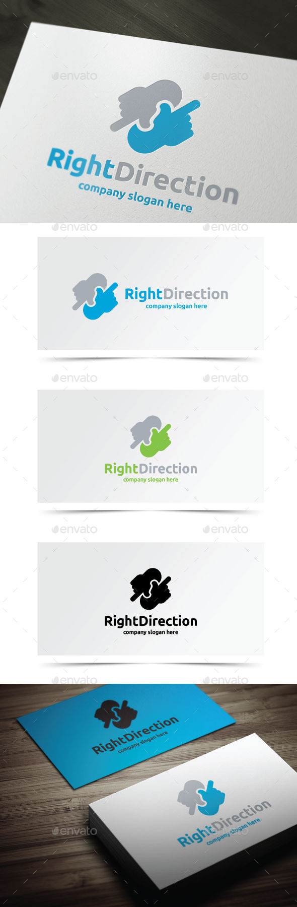 GraphicRiver Right Direction 10620428