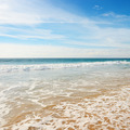 Ocean waves and blue sky - PhotoDune Item for Sale
