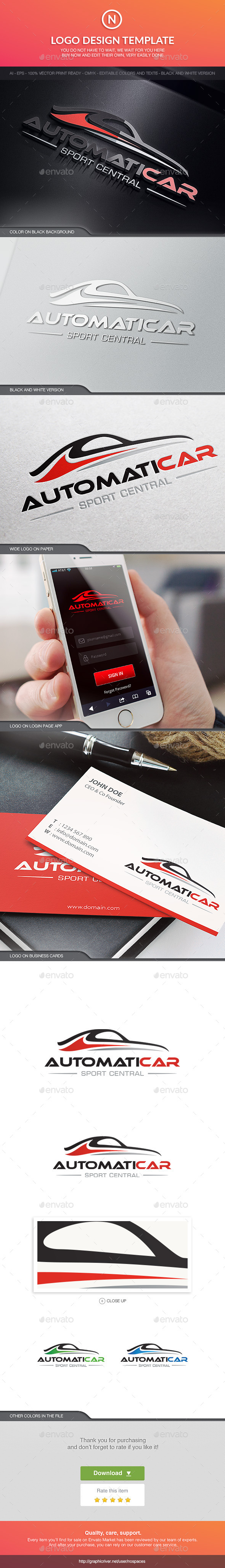 GraphicRiver Automotive Line 10620519