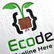 Eco Code Logo Template