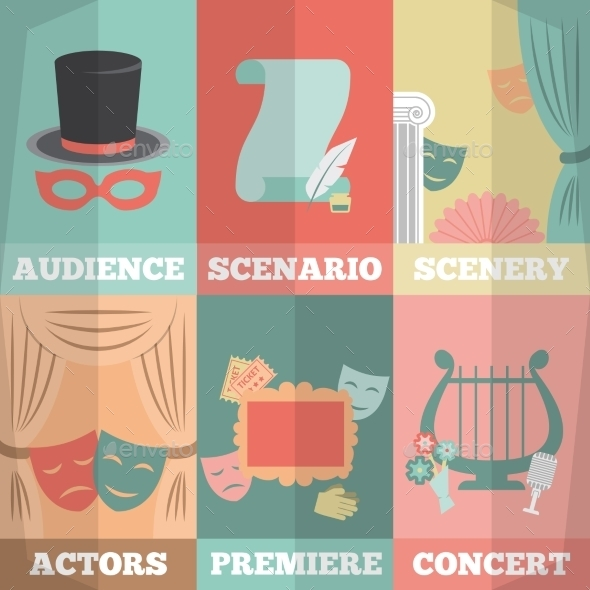 GraphicRiver Theatre Poster Mini Set 10620611