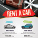 Rent A Car Roll-Up Banner - GraphicRiver Item for Sale