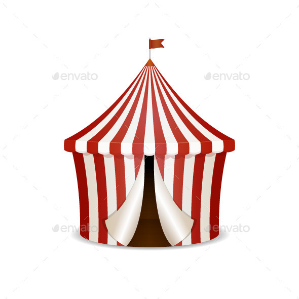 GraphicRiver Circus Tent 10620734