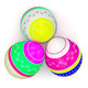 Color Painted in Neon Colors Modern Easter Eggs - PhotoDune Item for Sale