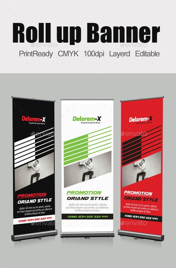 GraphicRiver Roll Up Business Banners 10620990