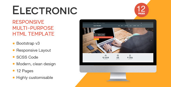 ThemeForest Electronic Responsive HTML 10549028