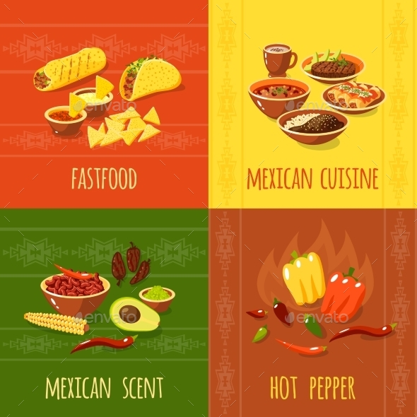 GraphicRiver Mexican Design Concept 10621405