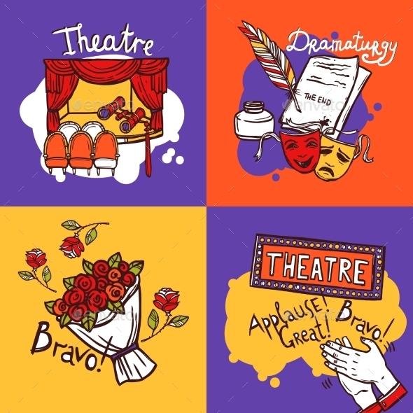 GraphicRiver Theater Design Concept 10621414