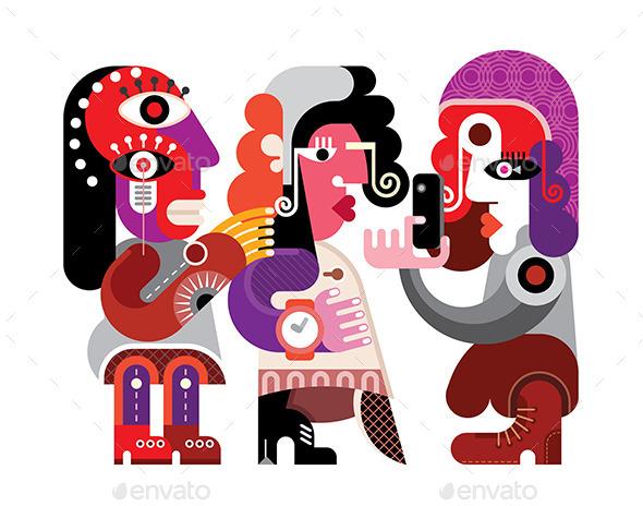 GraphicRiver Three Friends 10621420