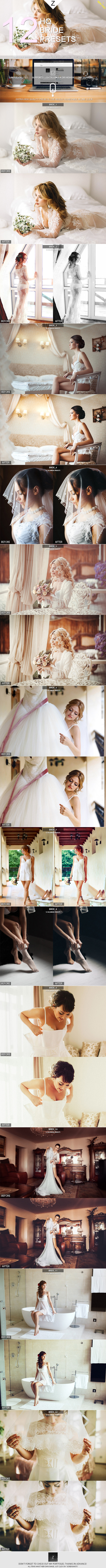 GraphicRiver 12 HQ Bride Presets 10621421