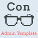 Con - Material Admin Dashboard Template - ThemeForest Item for Sale