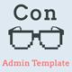 Con - Material Admin Dashboard Template