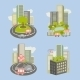 City and Nature Icons - GraphicRiver Item for Sale