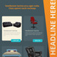 Furniture Roll-Up Banner - GraphicRiver Item for Sale
