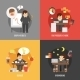 Stress at Work Concepts  - GraphicRiver Item for Sale