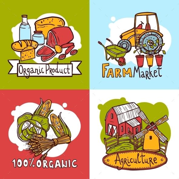 GraphicRiver Agriculture Design Concept 10621634