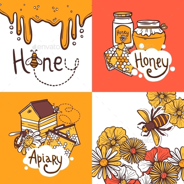 GraphicRiver Honey Design Concept 10621639
