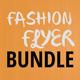 3x Fashion Flyers Bundle - GraphicRiver Item for Sale