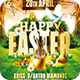 Happy Easter Event  | Psd Flyer Template - GraphicRiver Item for Sale