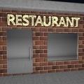 Restaurant signboard - PhotoDune Item for Sale