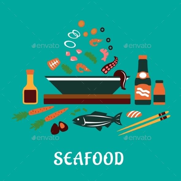 GraphicRiver Seafood Dish 10623097