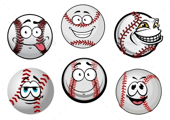 GraphicRiver Baseball Balls 10623113