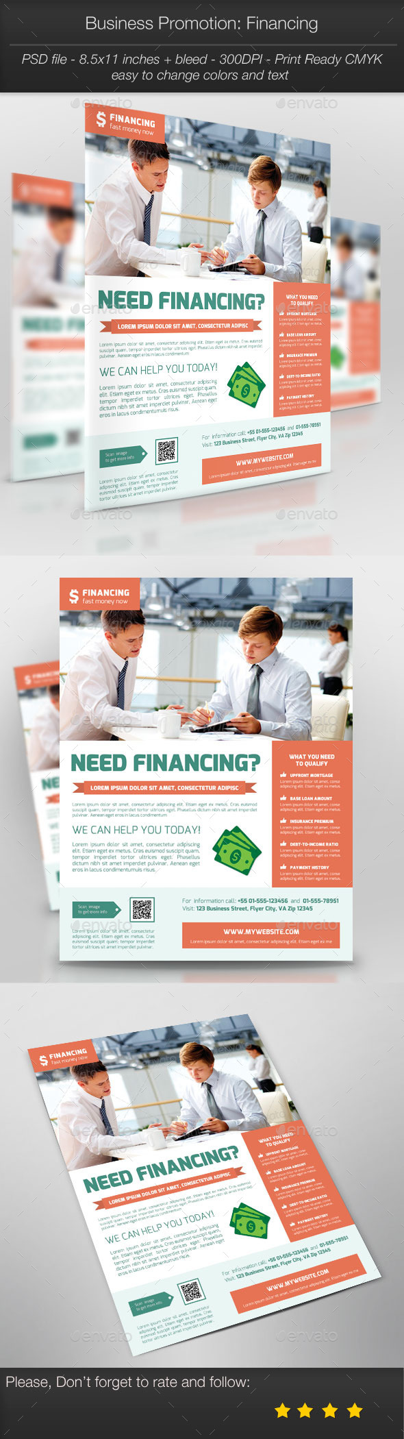 GraphicRiver Business Promotion Financing 10623126