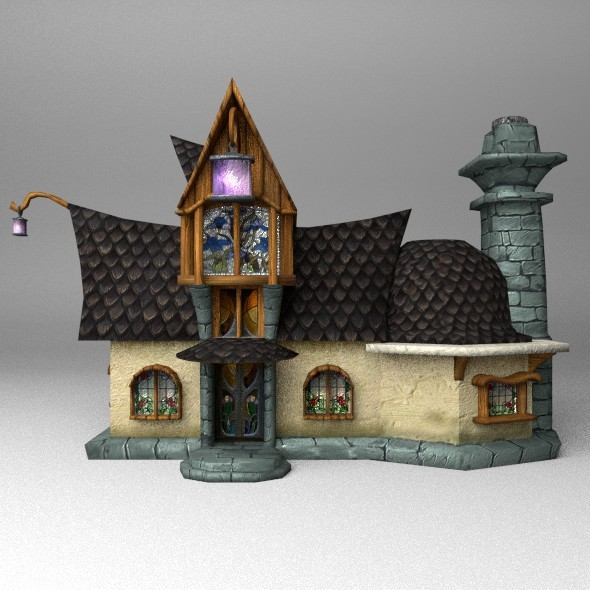 Fantasy House2 - 3DOcean Item for Sale