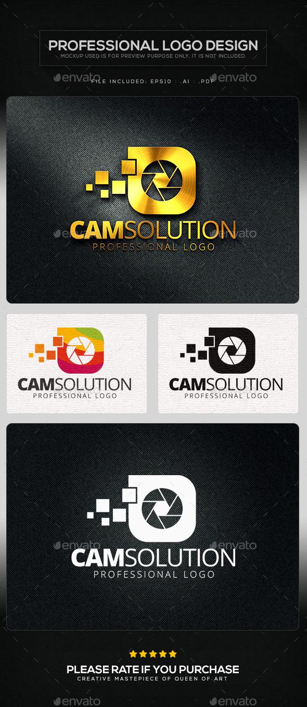 GraphicRiver Cam Solution Logo Template 10623430
