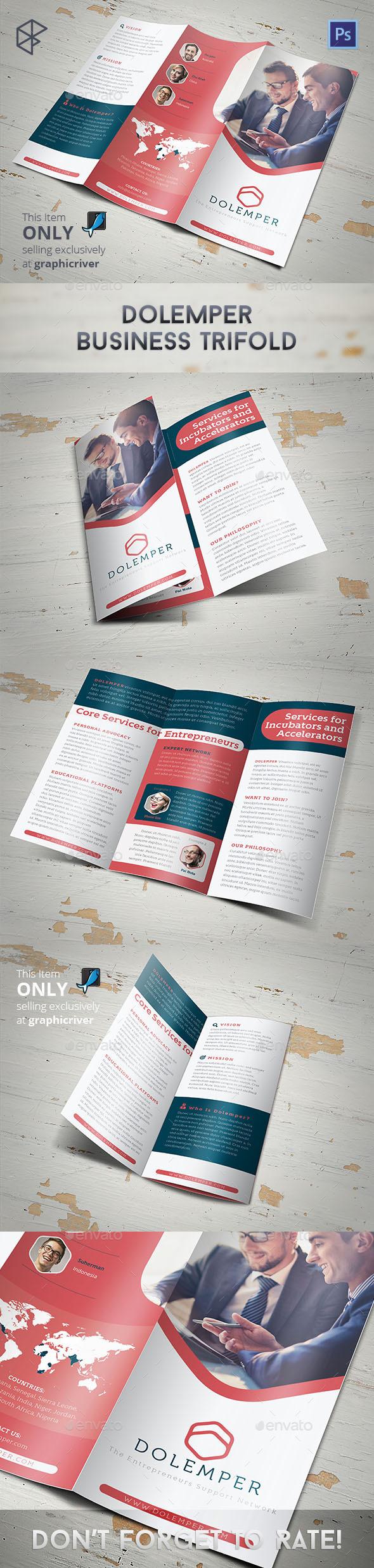 GraphicRiver Dolemper Business Trifold 10623496