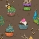 Cupcake Pattern - GraphicRiver Item for Sale
