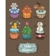 Winter Cupcakes  - GraphicRiver Item for Sale