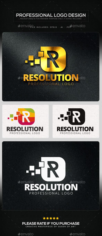 GraphicRiver Resolution Logo Template 10623849
