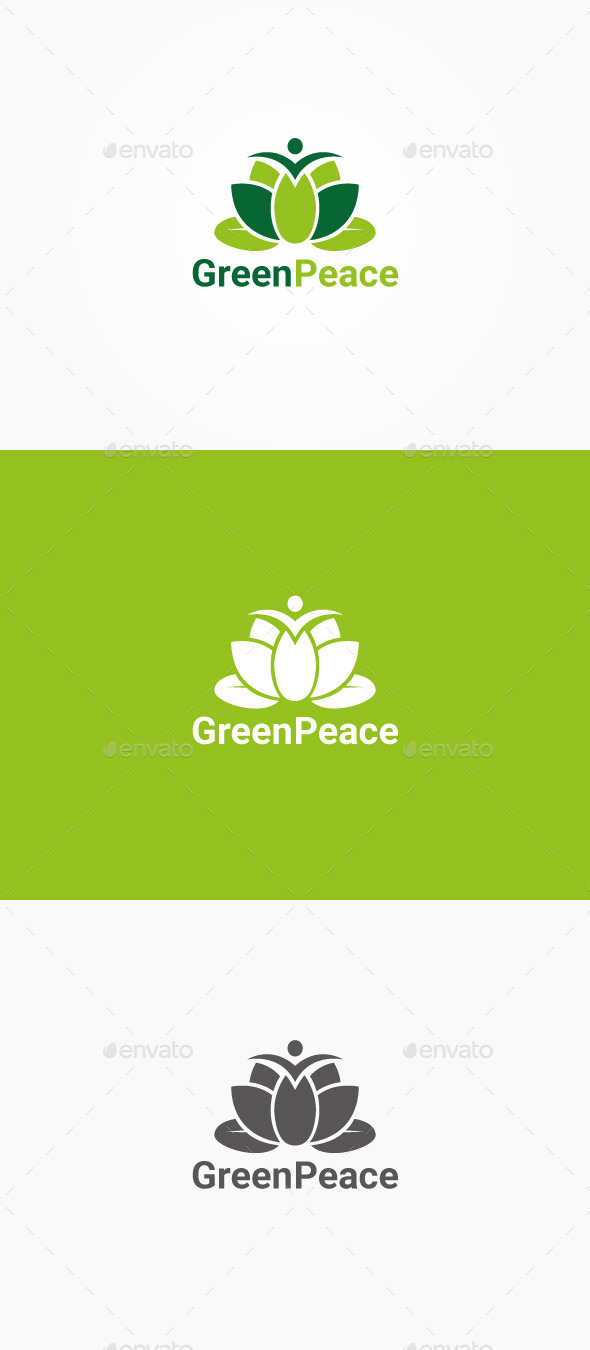 GraphicRiver Green Peace 10623852
