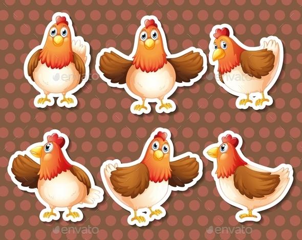 GraphicRiver Chicken 10624461
