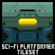 Sci-Fi Platformer Tileset - GraphicRiver Item for Sale