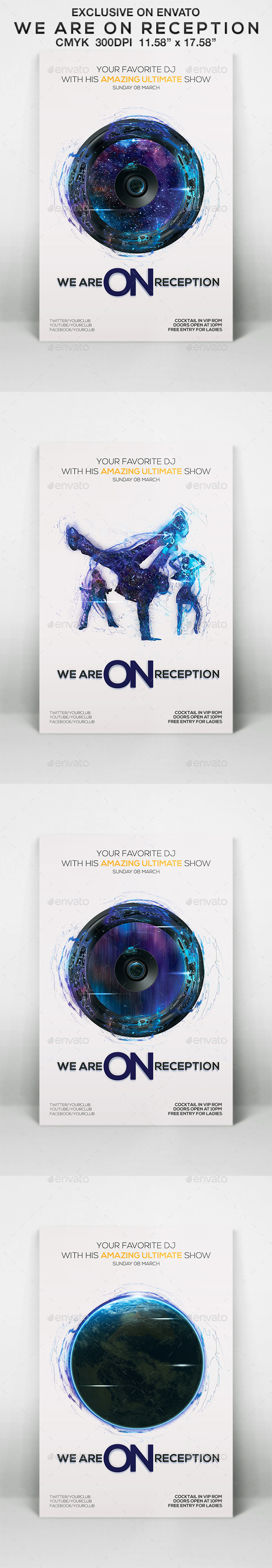 GraphicRiver We Are On Reception 10522488